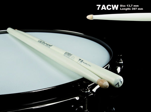 Wincent 7A Natural Hickory - White