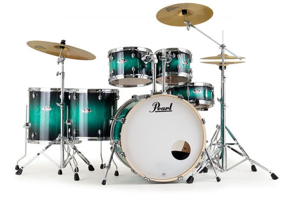 Pearl Export EXX 6pc Drum kit - Teal Blue Ash