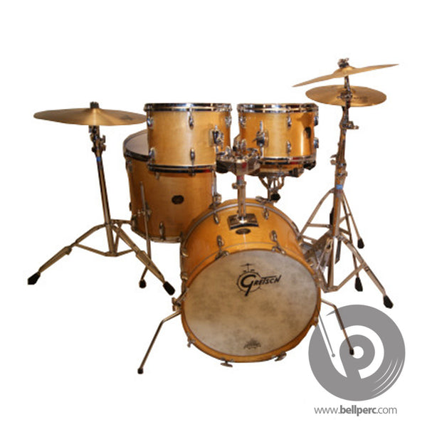 bellperc Gretsch Vintage Maple Drum Kit - bellperc.com