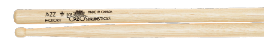 Los Cabos Jazz White Hickory Wood Tip Drumsticks