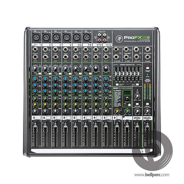 Bell Music Mackie ProFX12 V2 Mixer for Hire