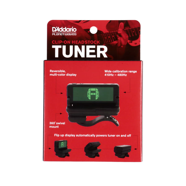 Clip-on Headstock Tuner