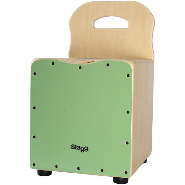 Stagg Kid Cajon Green