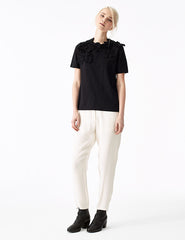 morgane le fay fitted silk pant