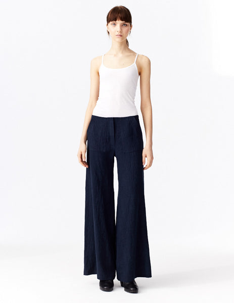 front view midnight maria pant