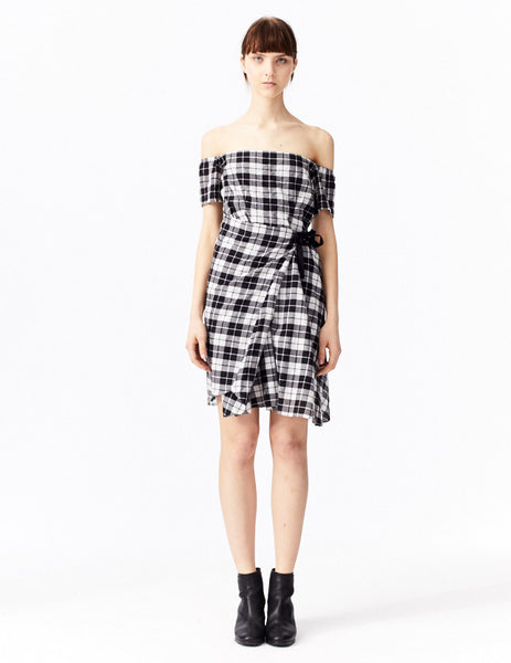 plaid priam front view dress