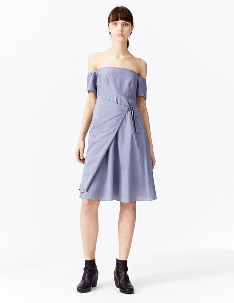 aegean blue olympia dress