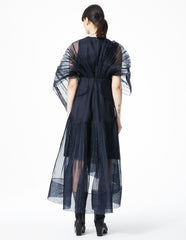 morgane le fay silk gown with ties