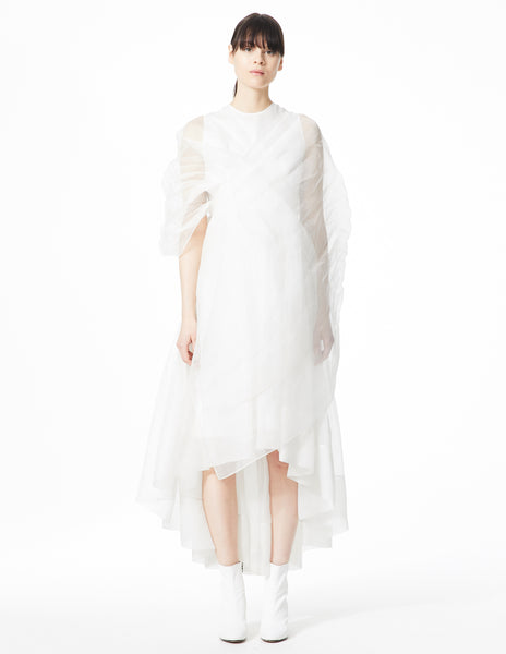 morgane le fay white gown