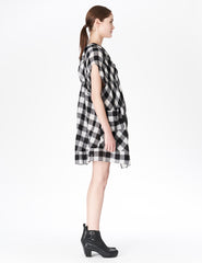 morgane le fay plaid dress