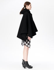 morgane le fay black swing coat