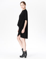 morgane le fay dress with optional interior ties for draping