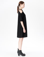 morgane le fay cotton t-shirt dress pocket.