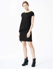 morgane le fay dress with draping