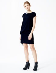 morgane le fay short black dress