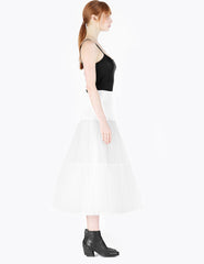 morgane le fay mid-length tulle slip