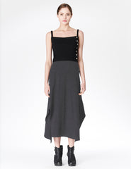 morgane le fay fitted skirt