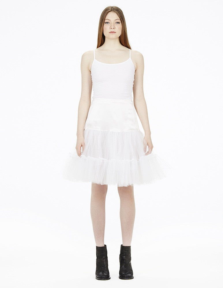 morgane le fay short tulle skirt