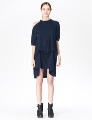 morgane le fay dress with single exposed shoulder