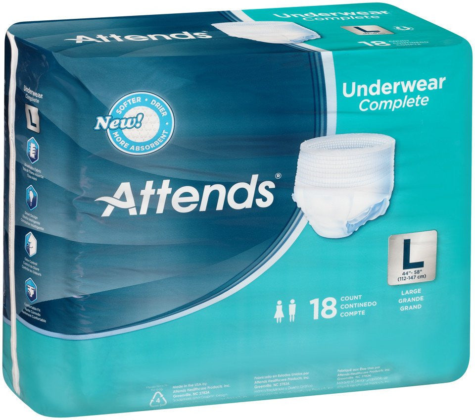 2a43126f34d Attends® Super Plus Maximum Absorbency Underwear - Rely Medical Supply