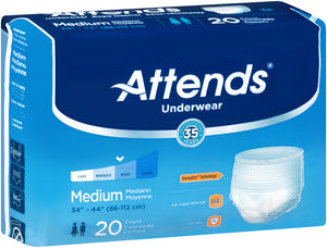 Attends® Extra Absorbency Underwear size medium