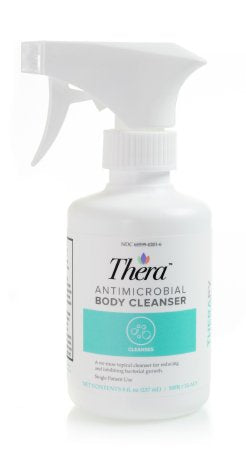 Antimicrobial Body Wash Thera® Liquid 8 oz. Pump Bottle Scented