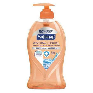 Antibacterial Soap Softsoap® Liquid 11.25 oz. Pump Bottle Clean Scent