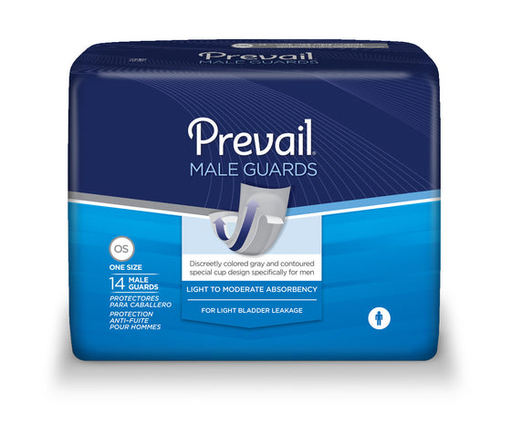 Prevail® Male Bladder Control Guards, size 13""