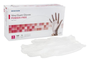 McKesson NonSterile Vinyl Exam Gloves (Box)