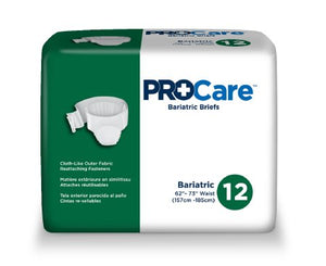 ProCare™ Adult Briefs (diaper) with tab closure - Heavy Absorbency