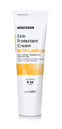 Skin Protectant McKesson 4 oz. Tube Unscented Cream