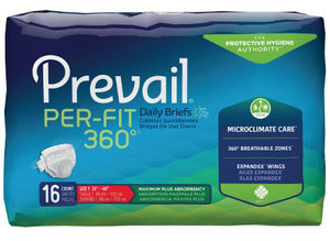 Prevail® Per-Fit 360°™ Unisex Adult Incontinence Brief