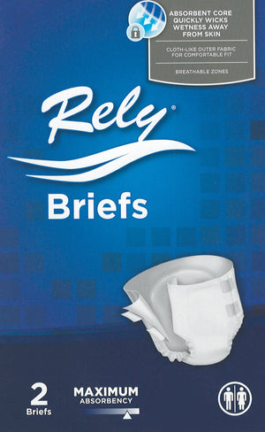 Rely Briefs/Diapers Sample Pack