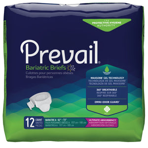 Prevail® Bariatric Briefs/Diapers - XXL