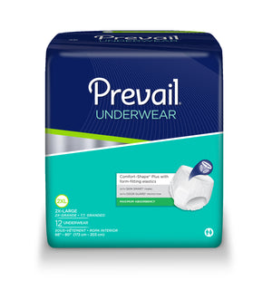 Prevail® Extra Absorbacy Underwear, size xx-large