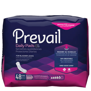Prevail® Bladder Control Pad - Maximum 11""