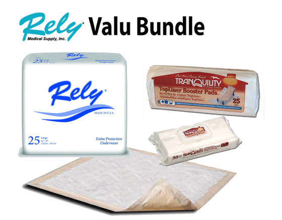 Rely Extra Protection Underwear (Pull-up) - Valu Product Bundle