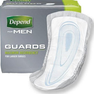 Depend® Male Guard Incontinence Pad