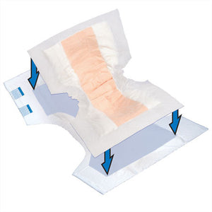Tranquility® Topliner™ Booster Contour Incontinence Booster Pad product image