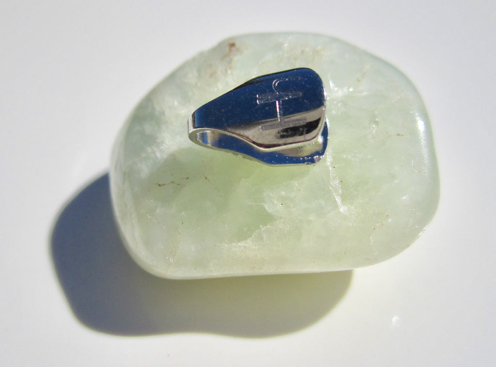 ATTRACT CALM Aquamarine Healing Crystal Bra Clip
