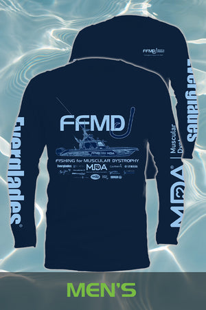 Long Sleeve  FFMD Monochromatic Performance Shirt (Dri-Fit)- Navy