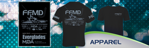 Short Sleeve FFMD Monochromatic Performance Shirt (Dri-Fit)- Black