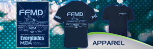 Short Sleeve FFMD Monochromatic Performance Shirt (Dri-Fit) - Navy