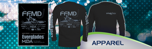 Long Sleeve  FFMD Monochromatic Performance Shirt (Dri-Fit)- Black