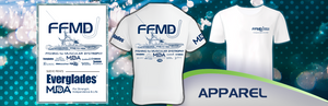 Short Sleeve Cotton FFMD Shirt (adult)- White