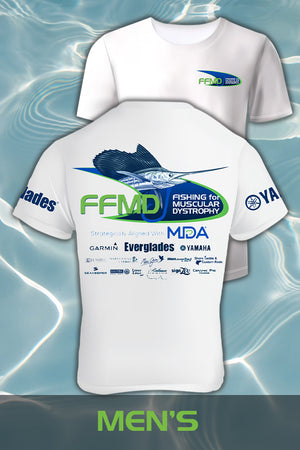 Short Sleeve Sailfish Performance Shirt (Dri-Fit)- White