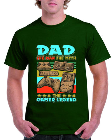 Dad, The Man, The Myth, The Gamer Legend Tshirt