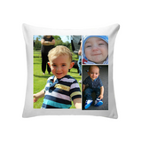 3 Photo Personalised Cushion