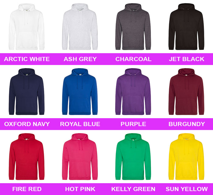 Adult Hoodie - Front & Back Print (Text Only) - Personalised Custom Print Products Fun Printz Gainsborough