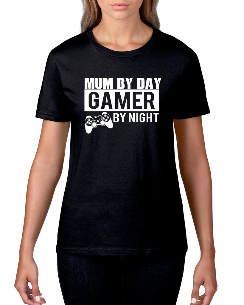 Mum By Day, Gamer By Night Tshirt